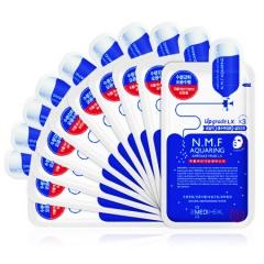 韩国美迪惠尔Mediheal可莱丝 N.M.F针剂水库补水面膜贴 10片